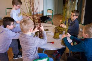 atelier vannerie enfants
